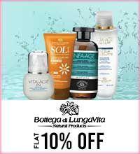 Get Online Offers on Bottega Di Lungavita Products Flat 10%