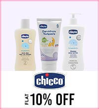 Get Online Offers on Chicco Products Flat 10%