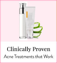 Get Online Offers on Clinically Proven Acne Products