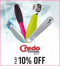Get Online Offers on Credo Solingen Products Flat 10%
