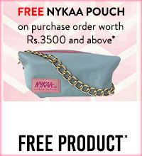 Get Online Offers on Free Nykaa Pouch Products Free Products