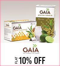 Get Online Offers on Gaia Products Flat 10%