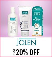 Get Online Offers on Jolen Products Flat 20%