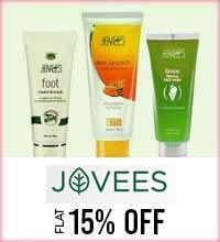 Get Online Offers on Jovees Products Flat 15%