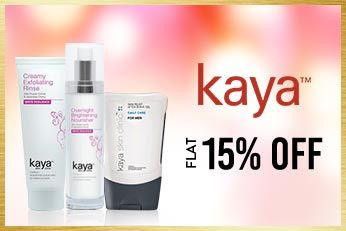 Get Online Offers on Kaya Products Flat 15%