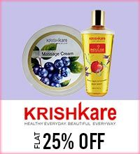 Get Online Offers on Krishkare Products Flat 25%
