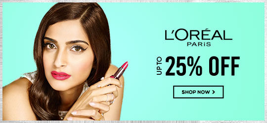 Get Online Offers on Loreal Paris Products Upto 25%