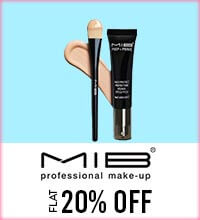 Get Online Offers on MIB Products Flat 20%