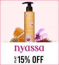 Get Online Offers on Nyassa Products Flat 15%