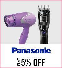 Get Online Offers on Panasonic Products Flat 5%