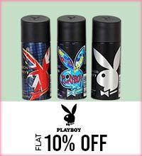Get Online Offers on Playboy Products Flat 10%