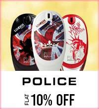 Get Online Offers on Police Products Flat 10%