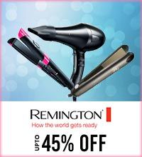 Get Online Offers on Remington Products Upto 45%