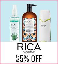 Get Online Offers on Rica Products Flat 5%