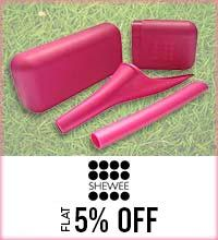 Get Online Offers on Shewee Products Flat 5%