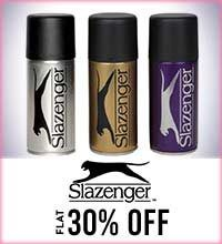 Get Online Offers on Slazenger Products Flat 30%