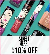 Get Online Offers on Street Wear Products Flat 10%