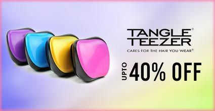 Get Online Offers on Tangle Teezer  Products Upto 40%