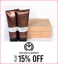 Get Online Offers on The Man Company Products Flat 15%