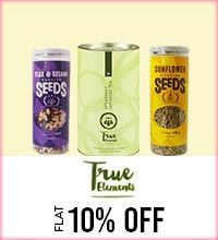 Get Online Offers on True Elements  Products Flat 10%