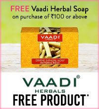 Get Online Offers on Vaadi Herbals Products Free Products