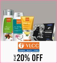 Get Online Offers on VLCC Products Flat 20%