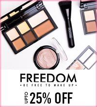 Get Online Offers on Freedom Products Upto 25%