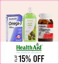 Get Online Offers on Health Aid Products Flat 15%