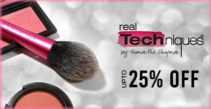 Get Online Offers on Real Techniques  Products Flat 25%