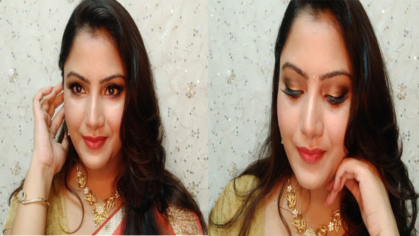 Check out my new makeup look indian wedding get ready with me