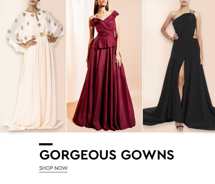 Designer Evening Gowns-Shop Designer Gowns Online In India| Nykaa ...