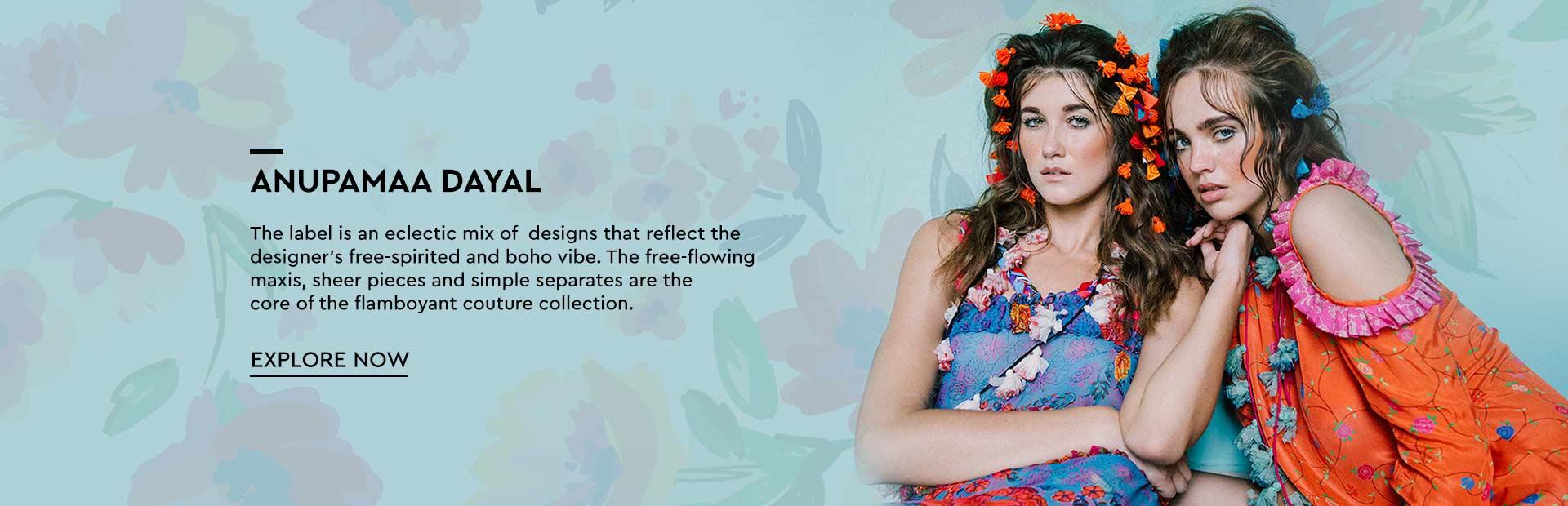 d2a7253a6f Anupamaa Dayal- Shop for The Vibrant Anupamaa Dayal Collection| Nykaa  Design Studio