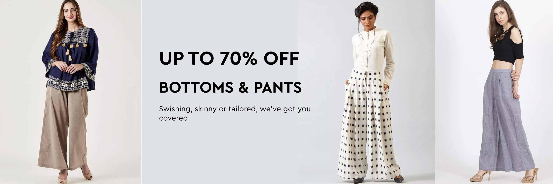 8cac0155d0bd9f Buy Women's Designer Pants, Designer Bottoms & Trousers for Women ...