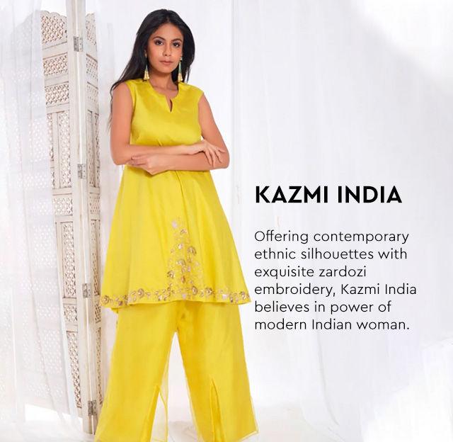 Kazmi India Clothing - Buy Latest Kazmi India Designs Online