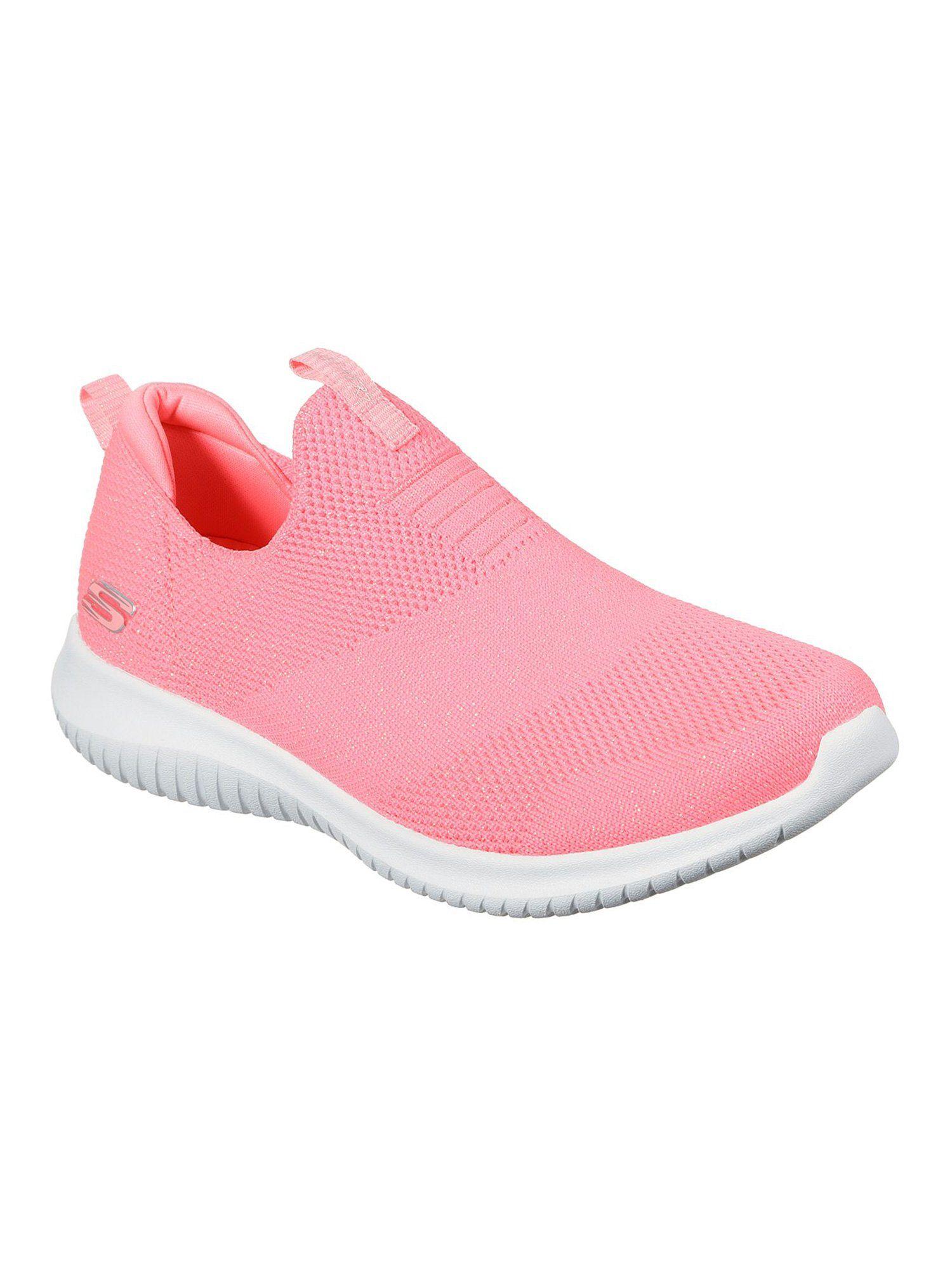 skechers light pink