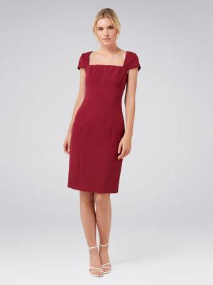 forever new dresses  buy forever new maroon lauren corset