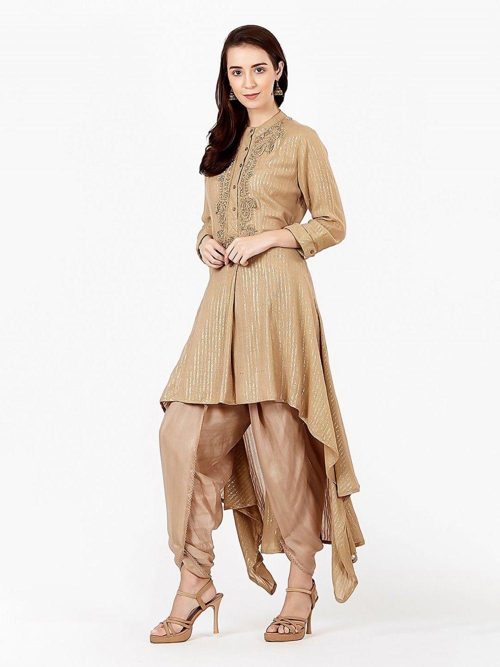 412bf2480d Ritu Kumar Salwar Suits and Sets : Buy Ritu Kumar Round Collar Full ...