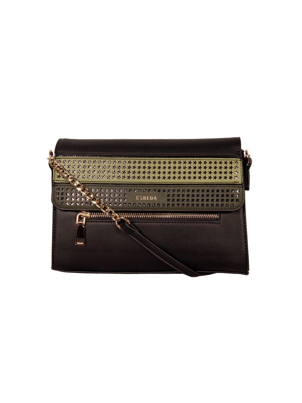 7196b26863 ESBEDA Sling and Cross Bags : Buy ESBEDA Black Small Size Moroccan ...