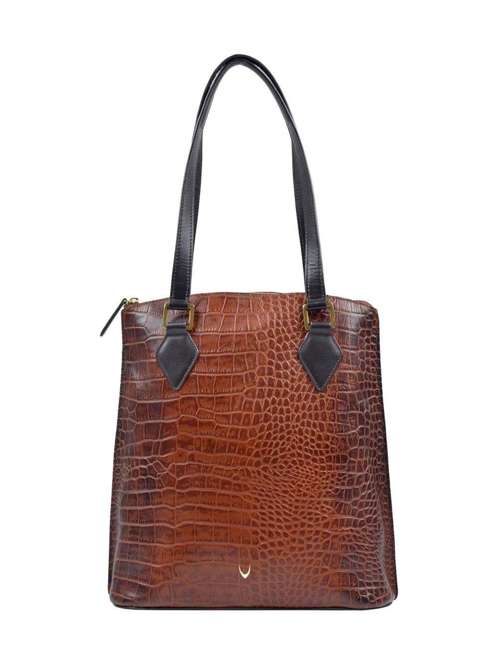 Hidesign Scorpio 01 Sb Tan Women S Handbag