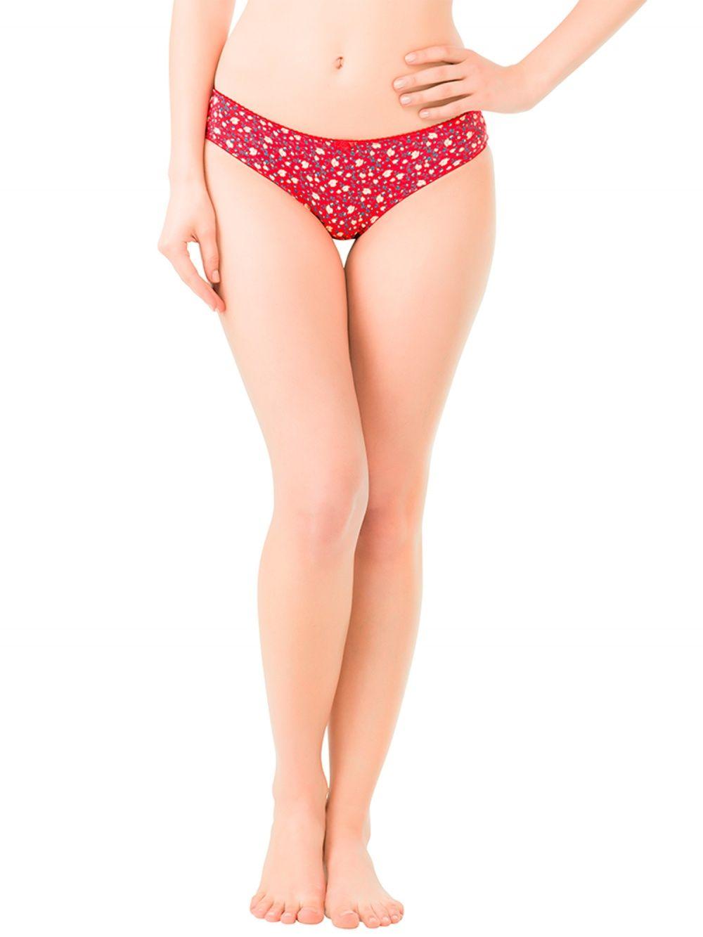 abd8c562a5b3 Amante Lingerie : Buy Amante Florette Floral Print Red Panty Online ...