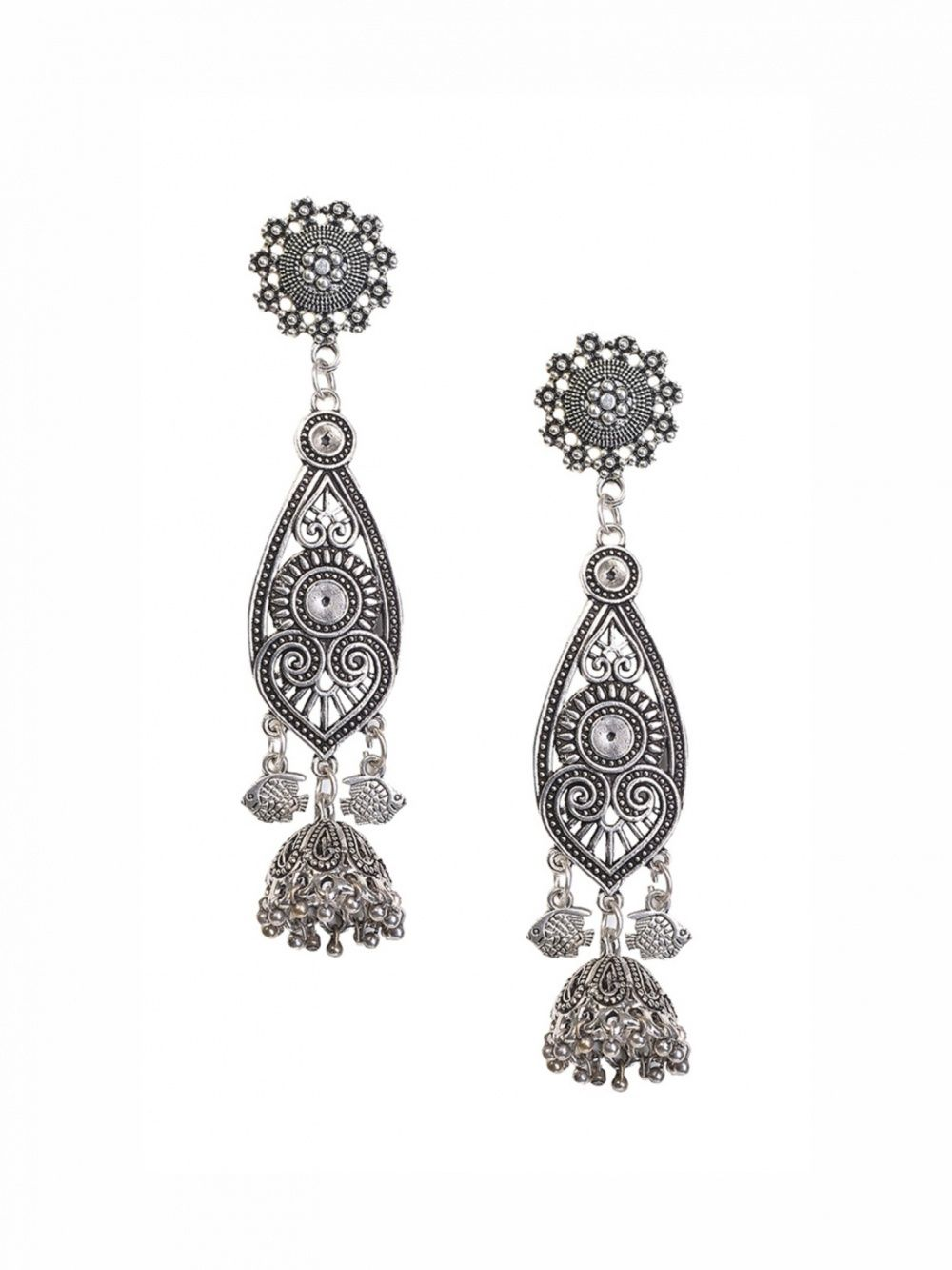 7c2f5e19e August Line Earrings : Buy August Line Zoya Root Earrings Online ...