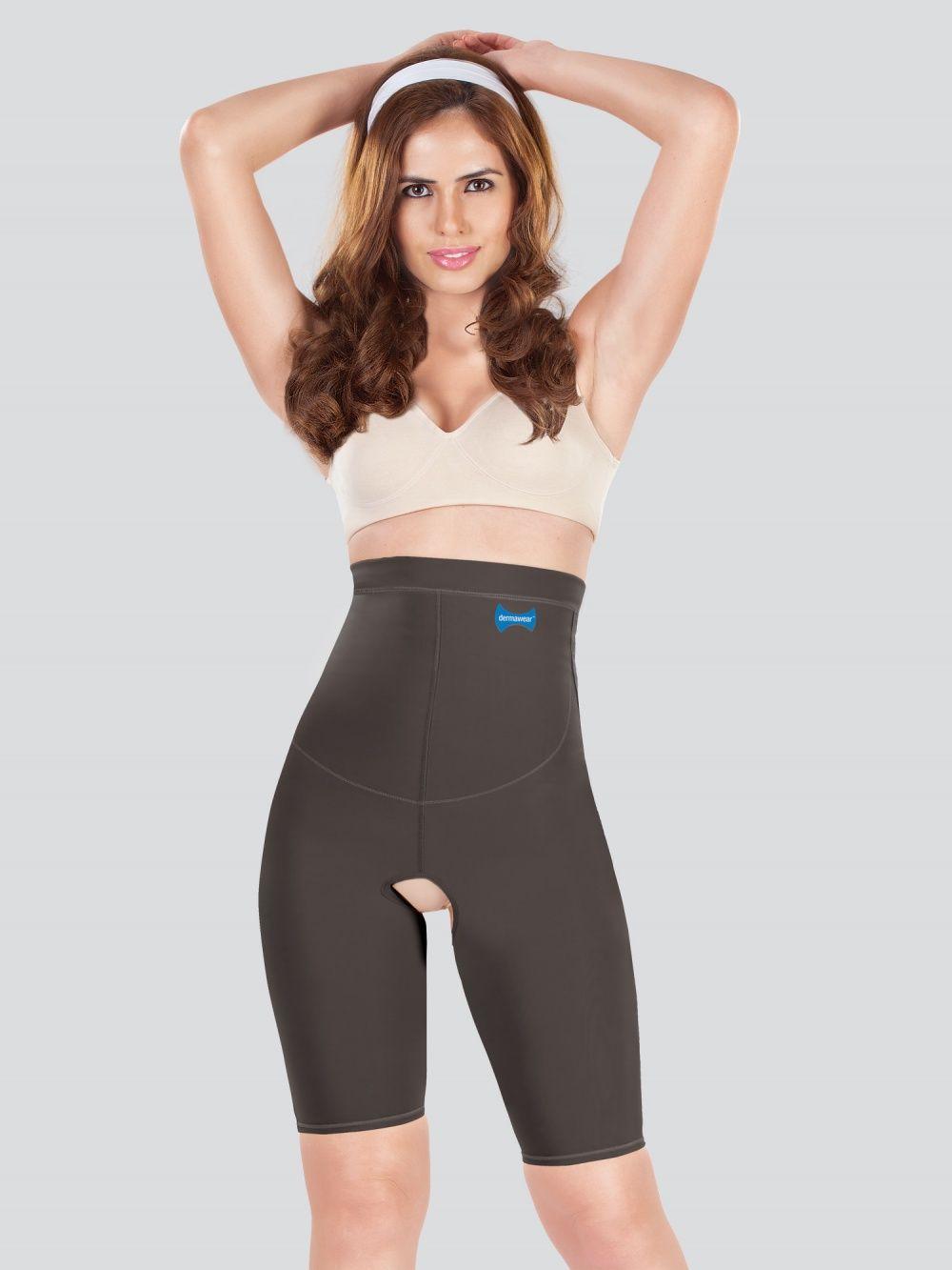 c62342d1b08 Dermawear Tummy   Waist Cinchers   Buy Dermawear Hip Corset - Black ...