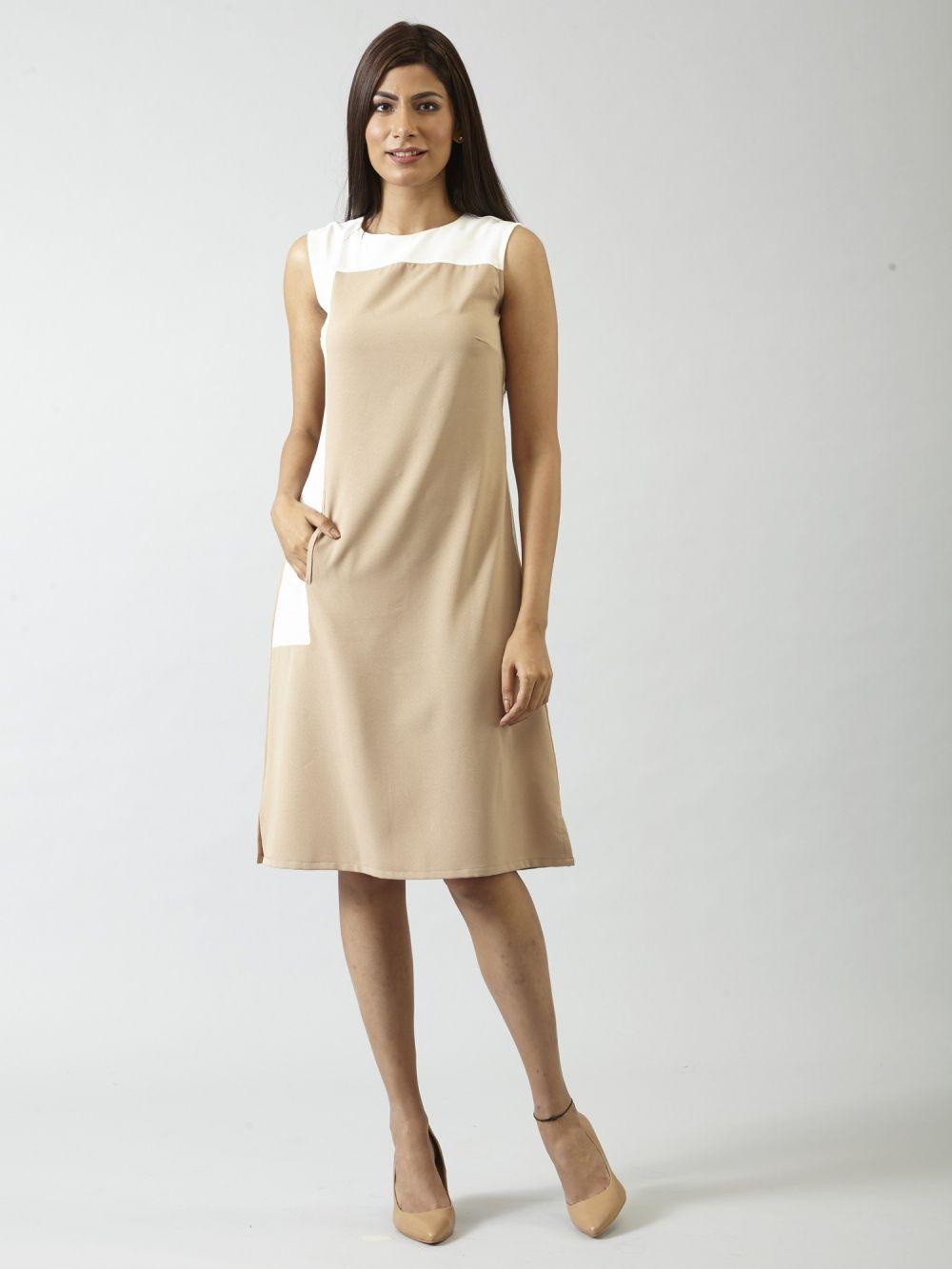 e20c14c566 FableStreet Dresses   Buy FableStreet Colour Block Shift Dress ...