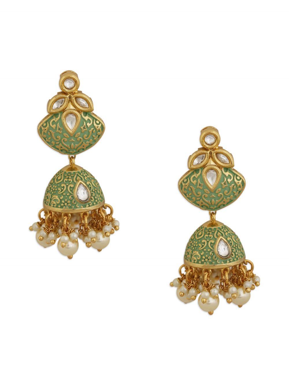 f5c84980a68dc Zulree by Harvi Mudra Earrings