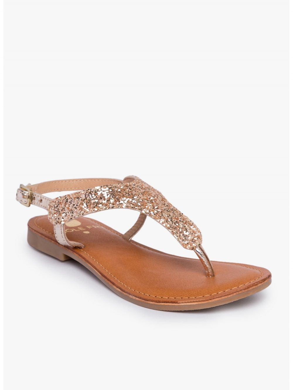 628eb2fa5 Sole Fry Flats : Buy Sole Fry Carrie Gold Flats Online | Nykaa Fashion.