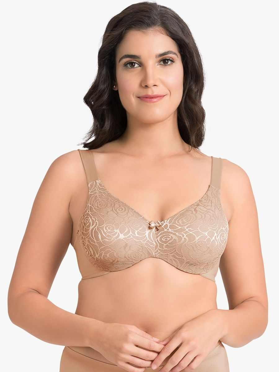 19d25d2a08e Ultimo Perfect Profile Minimizer Bra - Nude