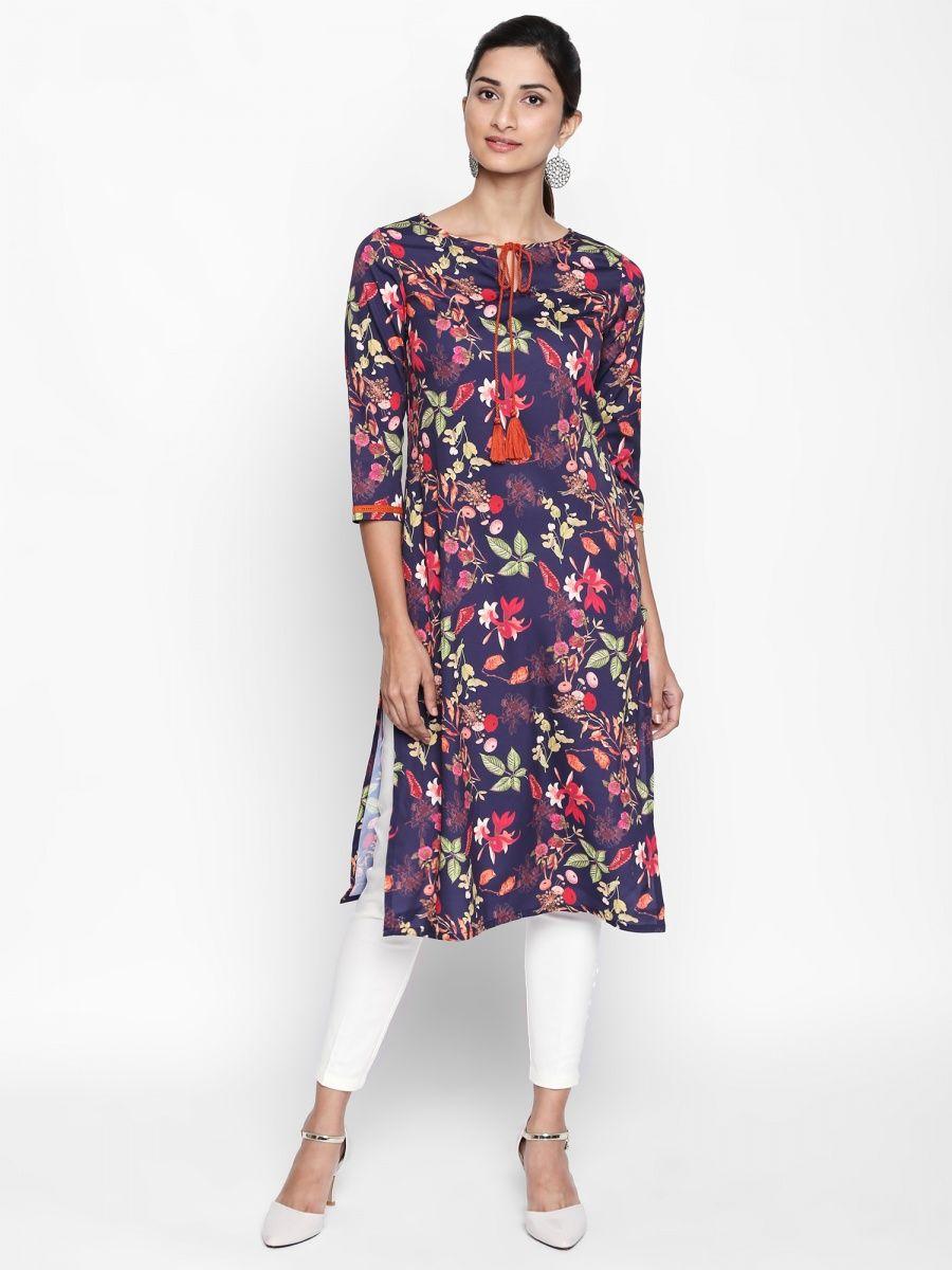 ffa90bea8be65d Buy Latest Designer Kurtis, Kurtas & Designer Tunics Online| Nykaa ...