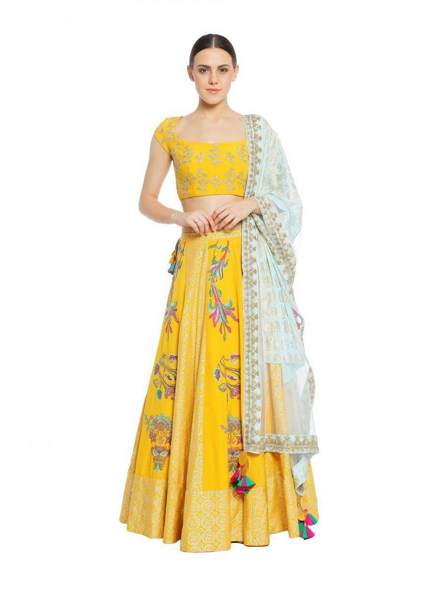 8190eca983 Buy Latest Designer Lehengas & Designer Lehenga Choli Online| Nykaa ...