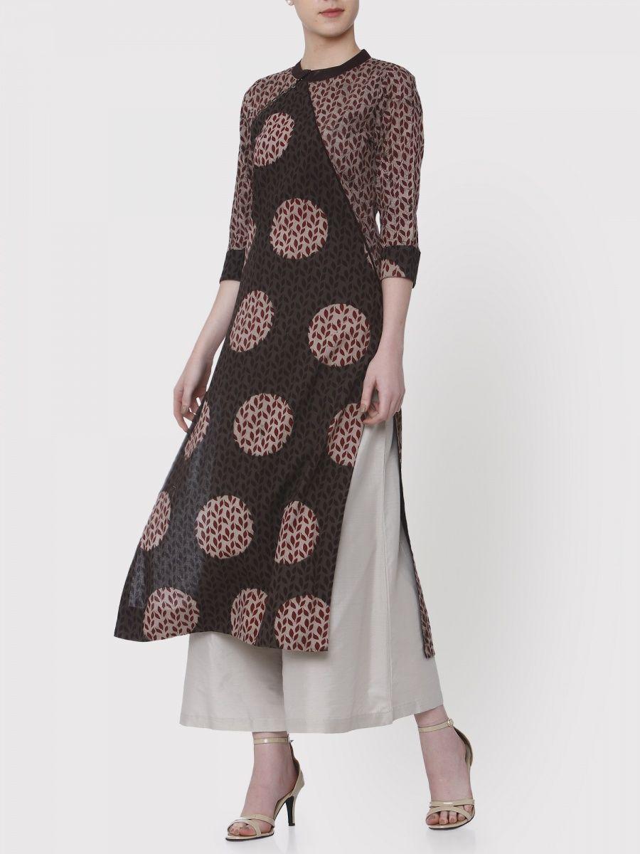 adaf632b47 Buy Latest Designer Kurtis, Kurtas & Designer Tunics Online| Nykaa ...