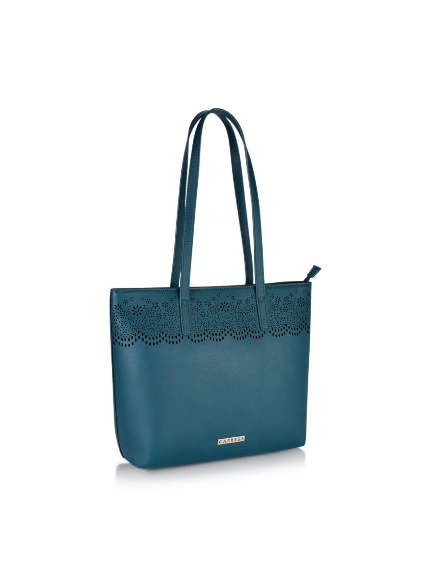 585d6125f Caprese Tote Bags   Buy Caprese Phora Medium (E) Teal Tote Bag ...